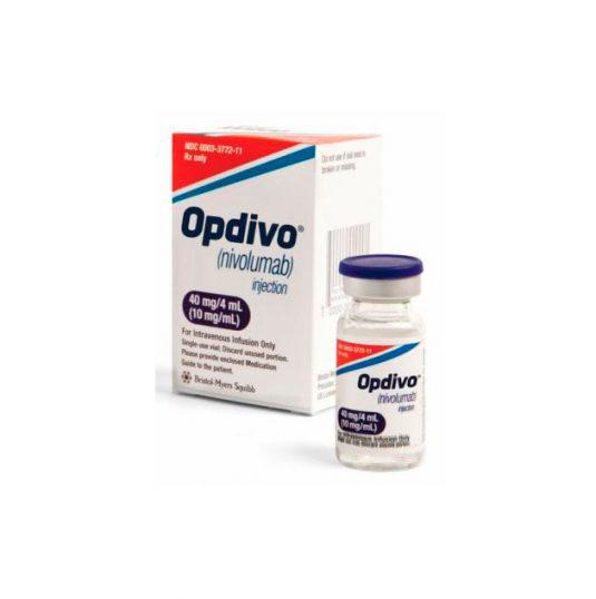 В компании MedExpress24 вы можете купить Опдиво 40 мг по выгодной цене в Москве с бесплатной доставкой по России.