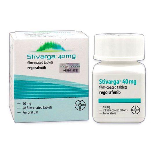 В MedExpress24 вы можете купить Стиварга по недорогой выгодной цене в Москве. Препарат в таблетках Регорафениб (Regorafenib) с бесплатной доставкой по России.