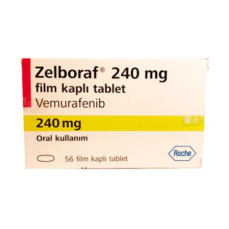 В Medexpress24 вы можете купить Зелбораф по выгодной цене в Москве. Лекарство Вемурафениб (Zelboraf) от меланомы 240 мг с доставкой препарата по России.