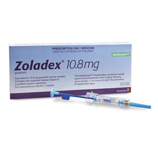 В MedExpress24 вы можете купить Золадекс 10.8 мг по дешевой цене в Москве. Гозерелин (Zoladex) с бесплатной доставкой по России.